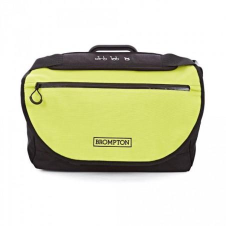 Sac Brompton S-Bag avec couverture Lime Green 2016 (QSB-LG)
