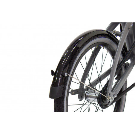 """Garde-boue noir 20"""" pour vélo pliant TERN Link D7i, Link D8, Link C7"""