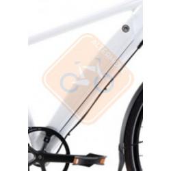 Batterie Vélo électrique Grace Easy intégrée au tube DT L 48V 6,6 Ah Can Bus blanc ou noir