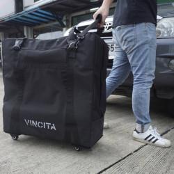 Sac de transport VINCITA 4 roulettes pour vélo pliant Brompton