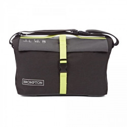 Sac Brompton Roll Top Bag Grey/Black/Limegreen (QRTB-GY)