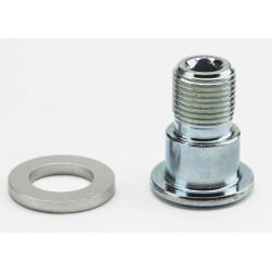 Brompton Axe/boulon pour pédales pliantes de remplacement - filetage G (acier)