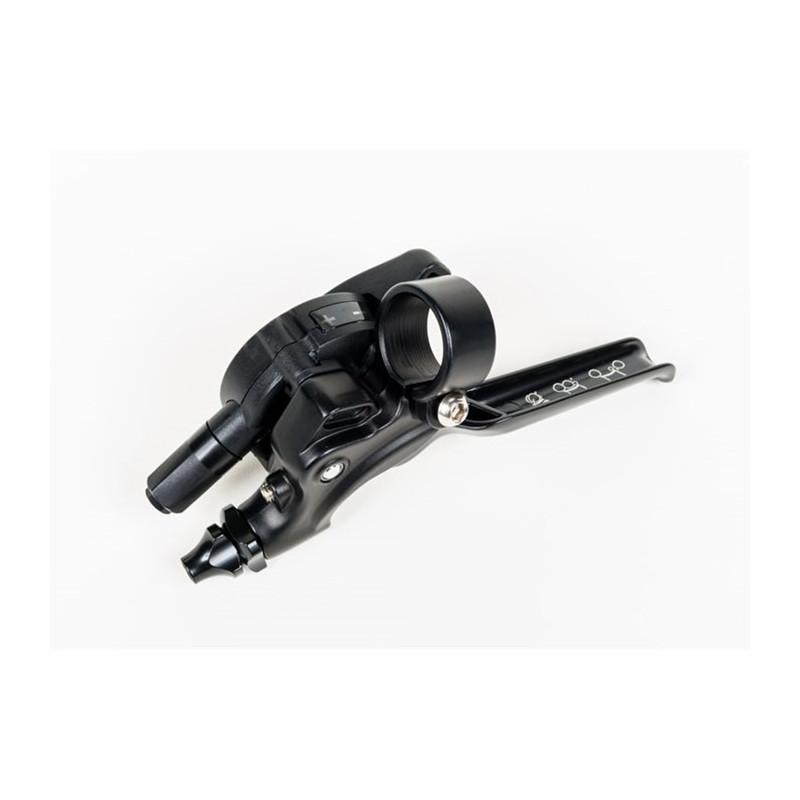 Brompton levier de vitesse dérailleur avec levier de frein intégré gauche - 2 vitesses (noir/noir) (2017 - )(QGSHIFTL2A-BK)