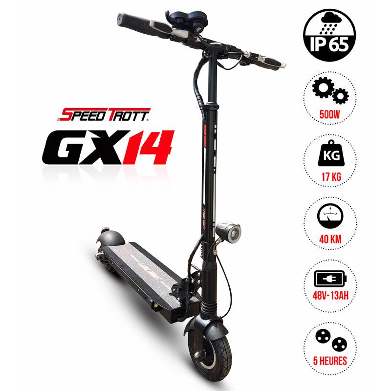 Trottinette électrique étanche SpeedTrott GX-14