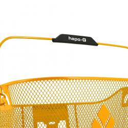 Panier vélo avant HAPO-G XXL 19 litres avec fixation guidon
