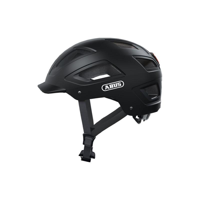 Casque vélo urbain ABUS Hyban 2.0 noir velours
