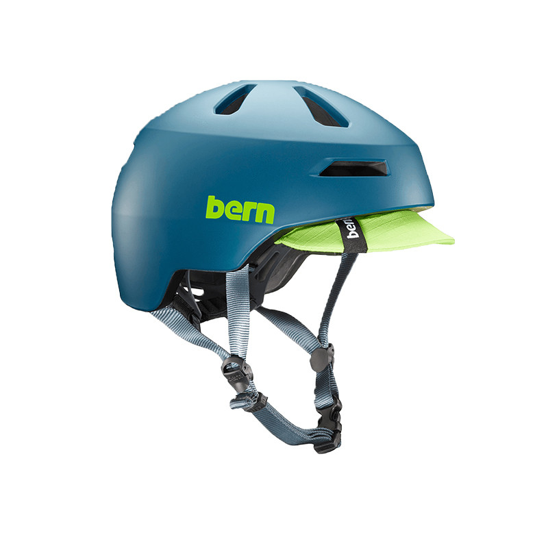 Casque vélo BERN Brentwood 2.0 Bleu Canard