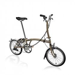 Vélo pliant BROMPTON M6L Raw Lacquer M6LF/RL[2]/RL[2]/BAT3/FCB/REV