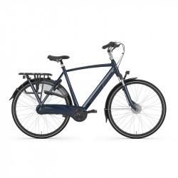 Vélo de ville GAZELLE cadre homme Orange C7+ 7V Bleu Foncé