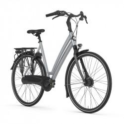 Vélo ville cadre bas GAZELLE Gris Clair Chamonix C7