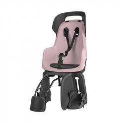 Siège vélo bébé sur cadre BOBIKE Go Maxi Rose jusqu'à 22kg