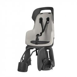 Siège vélo bébé sur cadre BOBIKE Go Maxi Vanille jusqu'à 22kg