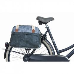Sac vélo + épaule BASIL bohème bleu indigo 18L