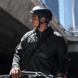 Casque vélo urbain THOUSAND Chapter Racer Black + éclairage