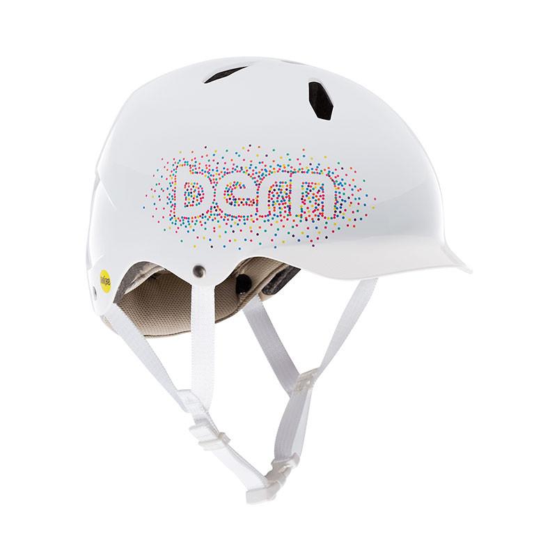 Casque vélo enfant BERN Bandito EPS Blanc Confetti