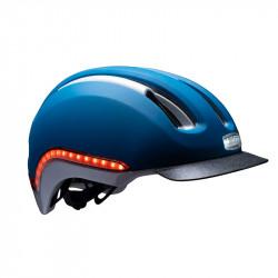 Casque vélo lumière intégrée Bleu Navy NUTCASE Vio