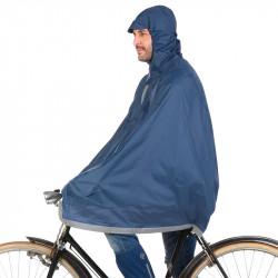 Cape de pluie vélo TUCANO URBANO Garibaldina Bleu Foncé