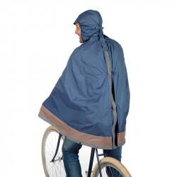 Cape de pluie vélo TUCANO URBANO Garibaldina Plus Bleu Foncé
