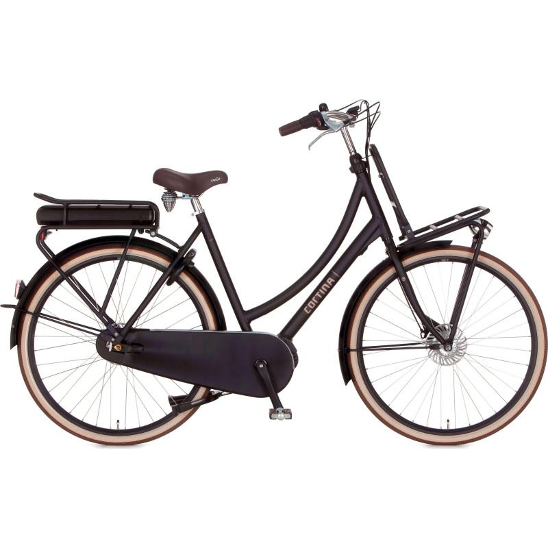 Vélo électrique de ville noir CORTINA E-U4 MM