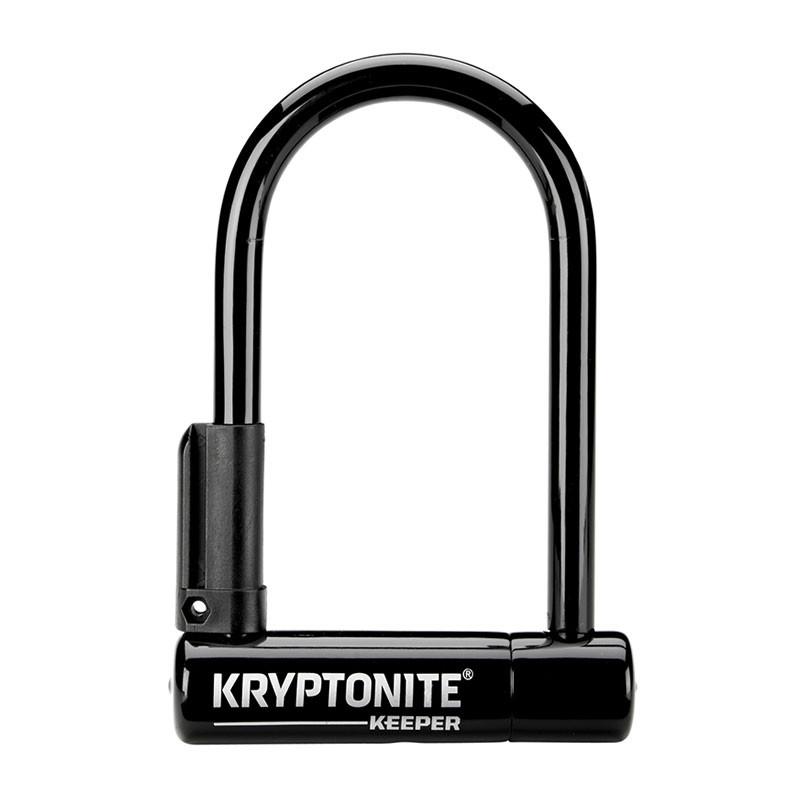 Antivol vélo U KRYPTONITE Keeper Mini 6 avec support cadre