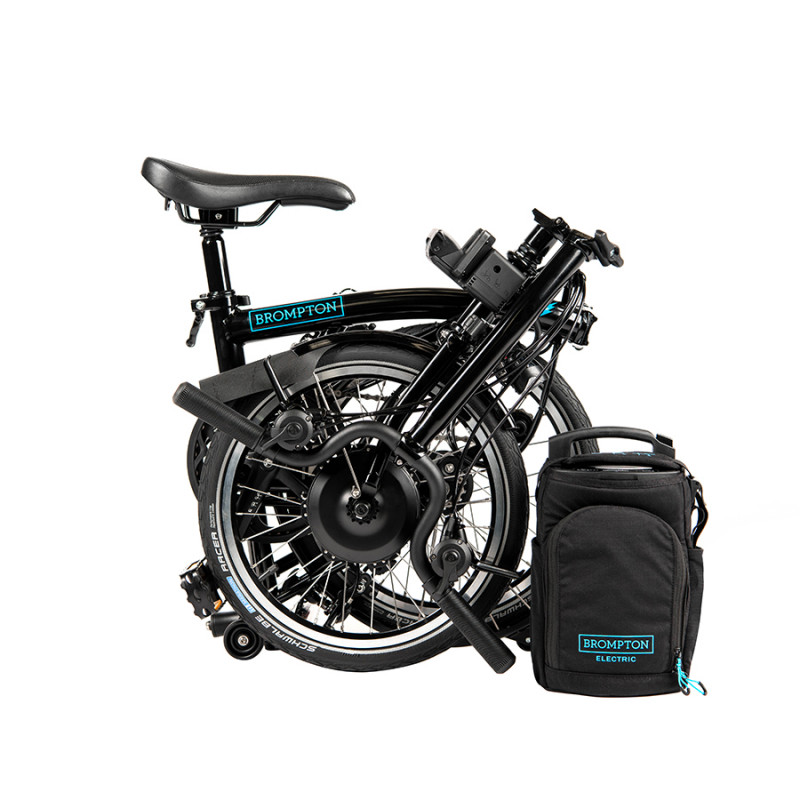 Vélo pliant électrique BROMPTON - Black