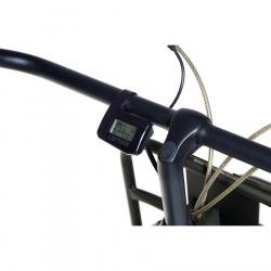 """Vélo électrique hollandais CORTINA E-U4 3v vert 28"""" M/50 (de 1m65 à 1m77)  Bas jusqu'à 140km"""