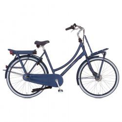 """Vélo de ville électrique CORTINA E-U4 Family 8v Bleu 28"""" M/50 (de 1m65 à 1m77) Bas Jusqu'à 140km"""