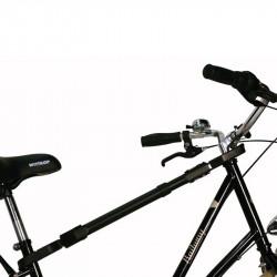 Barre de transport pour porte vélo pour velo femme ou tout suspendu
