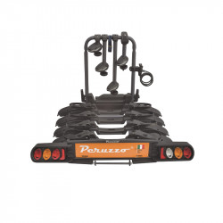 Porte vélo voiture PERUZZO fixation sur attelage Pure Instinct 4 vélos