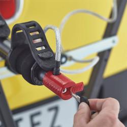 Porte vélo voiture fixation sur attelage suspendu MOTTEZ Jupiter 2 vélos