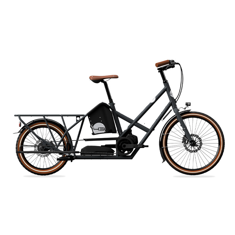 Vélo cargo électrique Bike 43 Alpster Nexus inter-5E batterie 500wh (jusqu'à 150km)