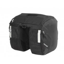 Sacoche latérale double RACKTIME sur porte bagage (36L)