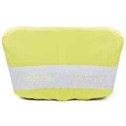 Brompton Housse de pluie jaune fluo pour bagage avant seule (QFCCOV-T)