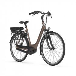 Vélo de ville électrique brun GAZELLE Paris C7 HMB Brun