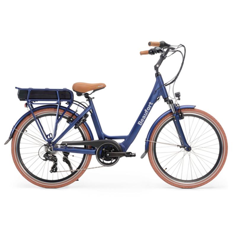 Vélo électrique moteur central puissant BEAUFORT Bonnie Bleu