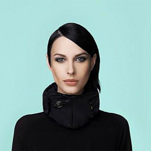 casque velo femme foulard